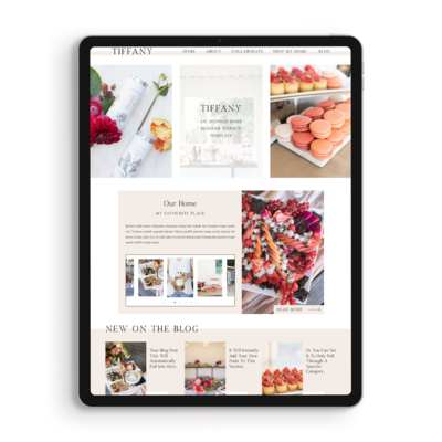 Tiffany-showit-blog-template-home