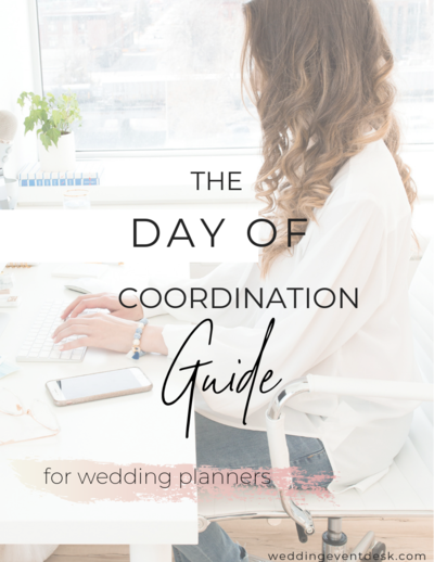 Day of Coordination Guide