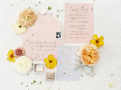 Warrenwood Manor - Kentucky Wedding Venue - Fine Art Invitation Suite - Photo by Kelli Lynn Photography