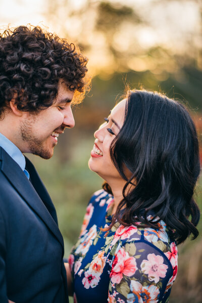 Kristie Lea Photography Wedding Engagement Portrait Virginia Colorful Enchanted Magical49