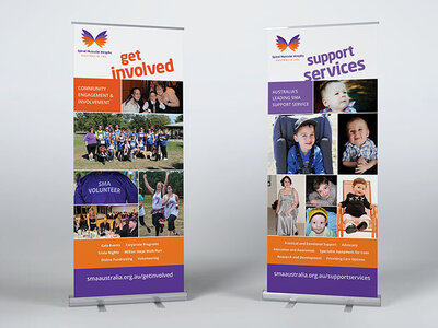 The Brand Advisory SMA Pull Up Banners