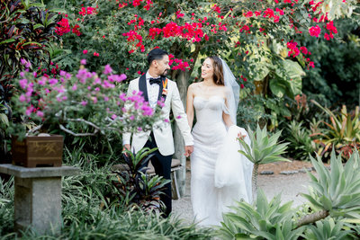 Destination Florida Wedding in Miami Samsara Gardens