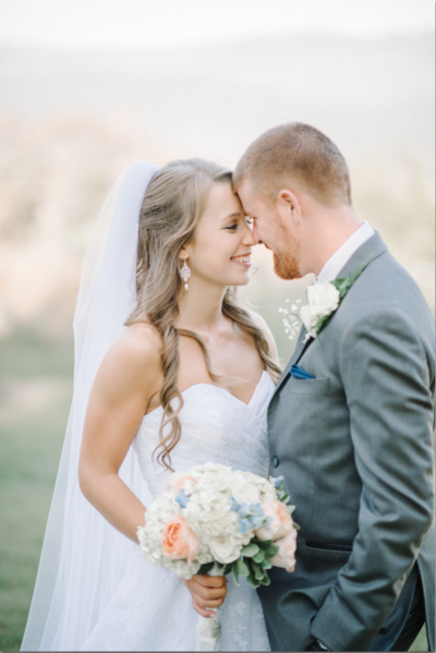 Mountain Magnolia Weddings Couple