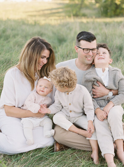 Whitefish baby fall family session