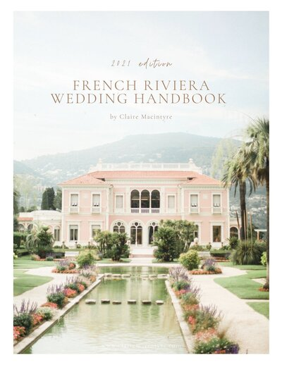 2021 French Riviera Wedding Handbook