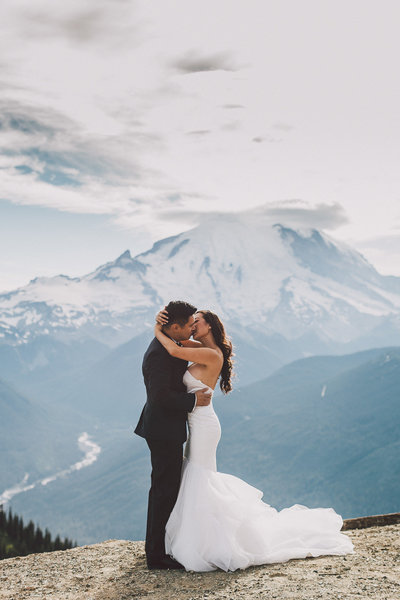 Crystal Mountain wedding venue photos | Luma Weddings