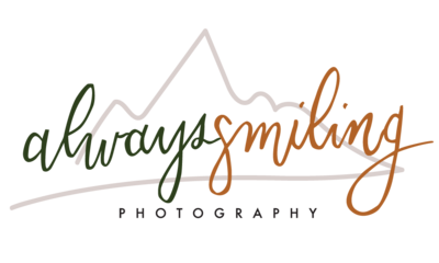 Always Smiling Photography with mountain background