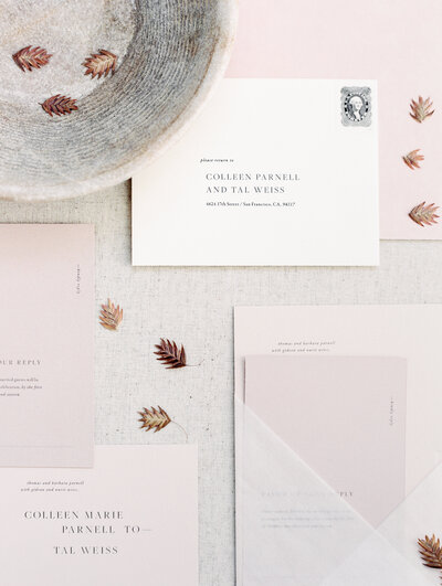 Brand design for Adrienne Michelle Weddings & Events