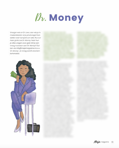 Maja magazine 1 dr Money