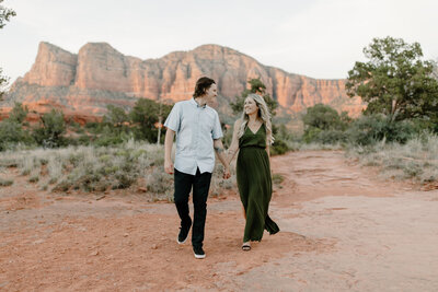 Taylor & Alex - Sedona Engagement Session - Tess Laureen Photography @tesslaureen - 86