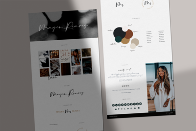 Brand Style Guide Mockup