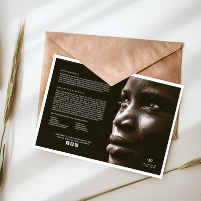 Our Hearts for Africans | Design Collateral | Studio Humankind