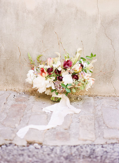 Christa O'Brien Photography fine art bouquet film
