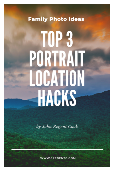Family Photo Ideas that include top 3 portrait location hacks