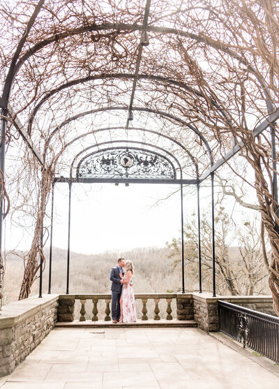 Cheekwood Engagement Session Nashville TN
