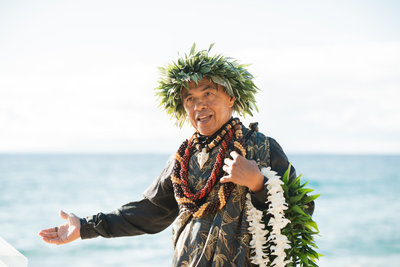 Maui Officiant Rev. Kuya