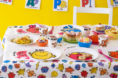 Graphic design and product design for Mr.Men in Worcestershire