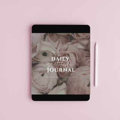 Daily Gratitude Journal Media - TM&CO.