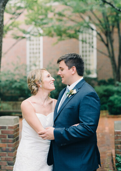 Beautiful wedding portraits at Canterbury UMC in Birmingham, AL