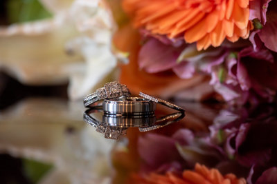 Baltimore Wedding Photographer Capturing  Wedding Ring Reflections  Martins West Caterers Its all about the details and the Memories that will  Last a Lifetime