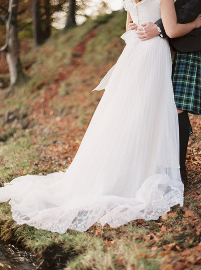 Autumnal Elopement in the Scottish Highlands