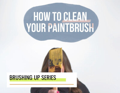 how to clean your paintbrush