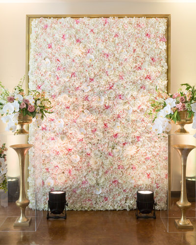 flower wall rental hill country