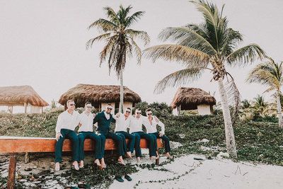 Dreams Tulum wedding venue photos by Tulum wedding photographer Luma Weddings