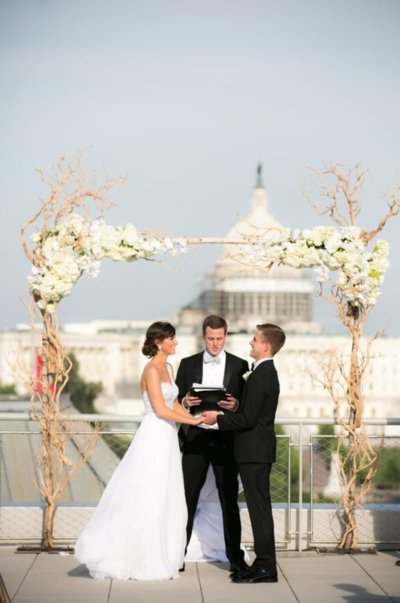 Kelley cannon events newseum wedding