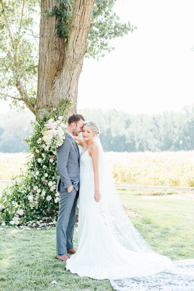 Romantic Deer Flat Ranch Wedding