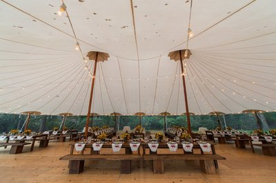 Sperry Tented Wedding Rehearsal Dinner in Darien, CT