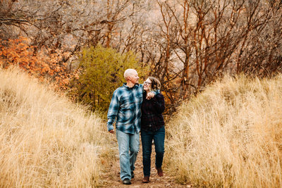 Utah Fall Engagement Session in Neff's Canyon-1433