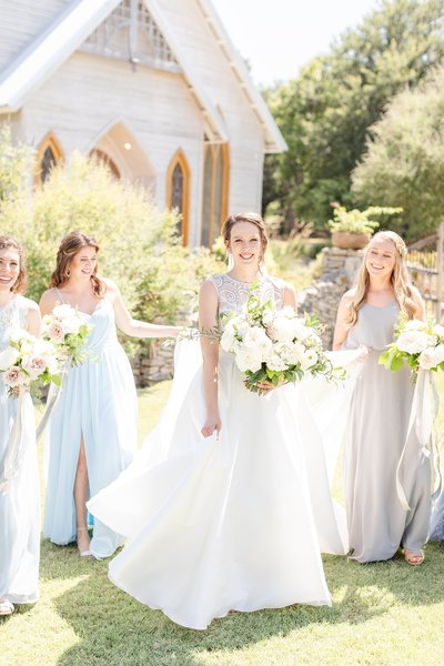 the brooks at weatherford bridesmaids