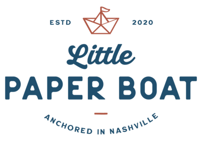 Little Paper Boat Co Logo Kindly by Kelsea