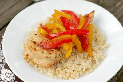chicken peppers