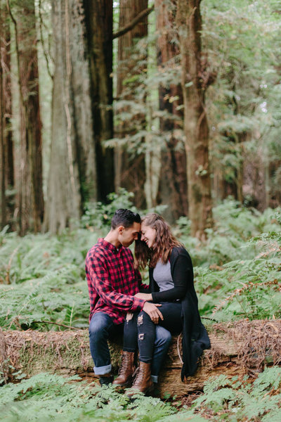 Redwood National Park Avenue of the Giants Engagement Session -7445