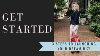 Get Started 3 steps to launching VIDEO