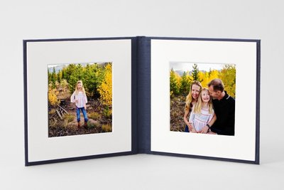 Family photography printed album