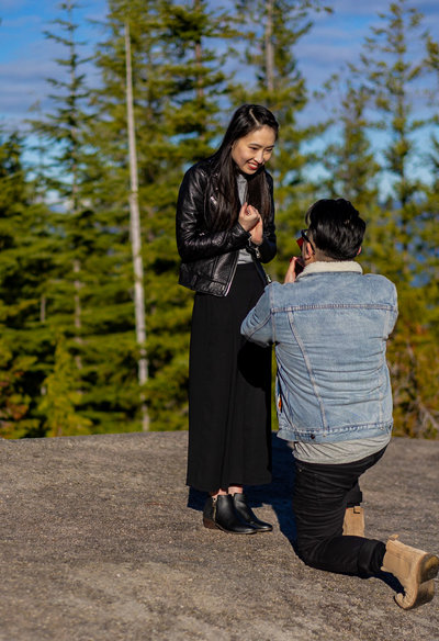Vancouver Proposal at Sea to Sky