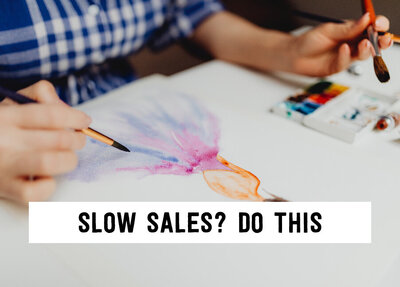 slow sales do this