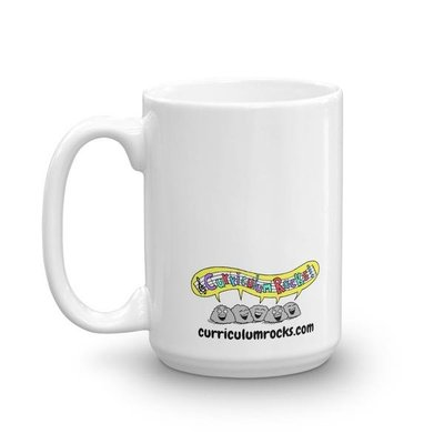 Teachers are Superheroes Mug Back