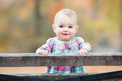 CT baby photographer Karissa Van Tassel captures a young girl in New Haven's Edgerton Park