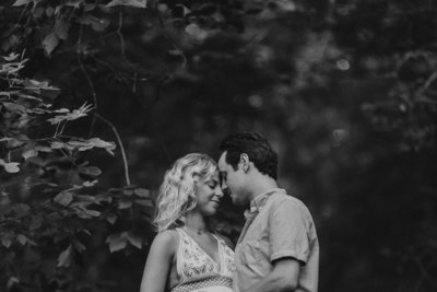 1_Maryland-Summer-Boho-Dress-Maternity-Couple-Woods
