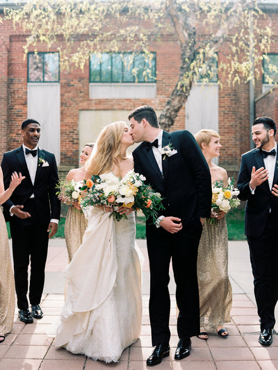 Black Tie Mt. Washington Mill Dye House Wedding in Baltimore, Maryland