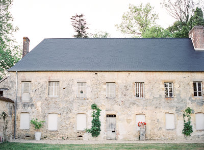 Cottage at Chateau de Courtomer Photographed by Amy Mulder Photography