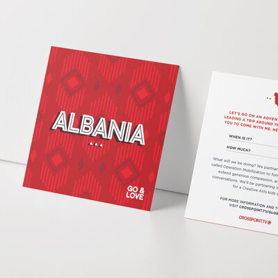 Global Good branding and invitation card