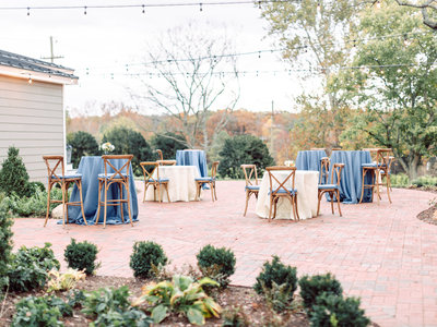 fleetwood farm winery wedding reception leesburg virginia