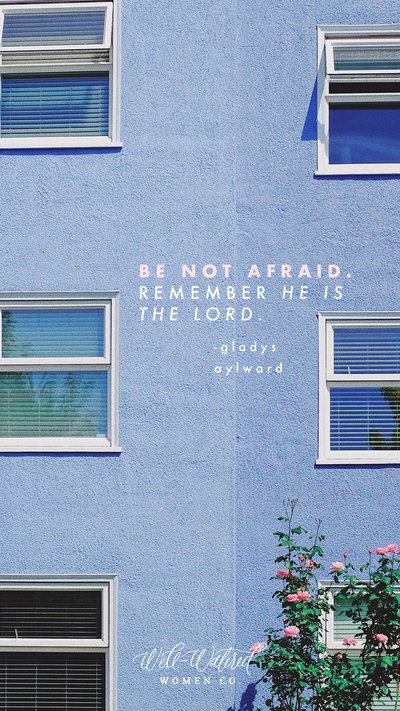 Be Not Afraid Lockscreen