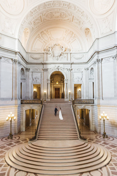 grand staircase photos at san francisco city hall
