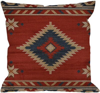 Southwest-Inspired Throw Pillow Case